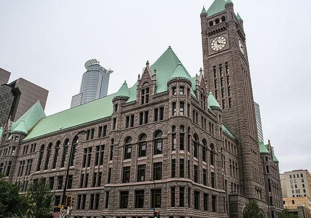 Image of the City Council in Minneapolis - Johnson Exteriors is the local expert roofing company