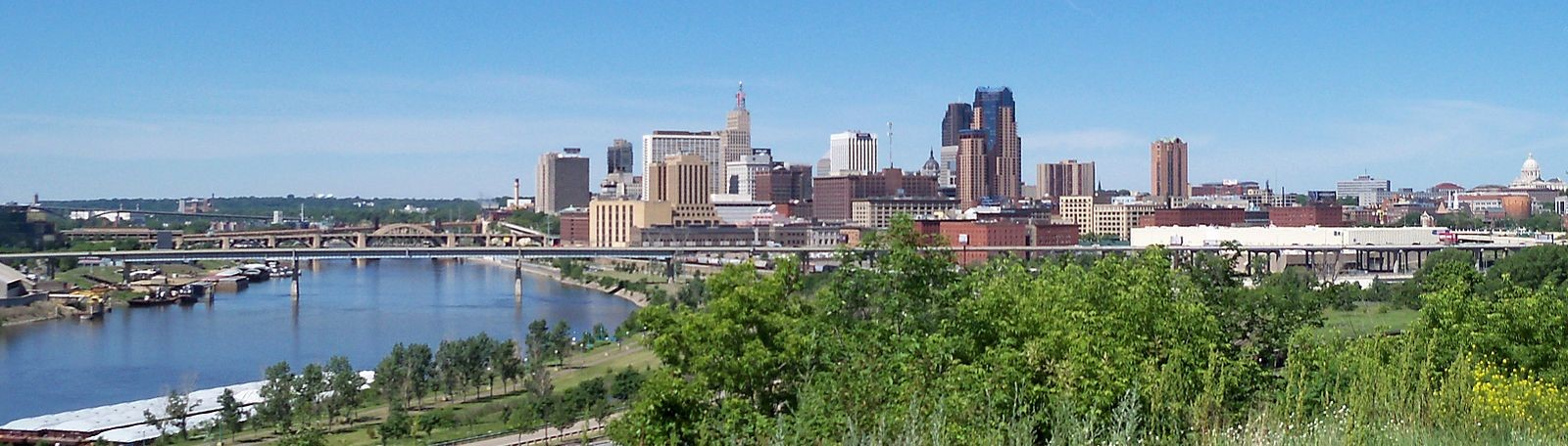 Saint Paul Panorama – home of Johnson Exteriors, roofing contractor