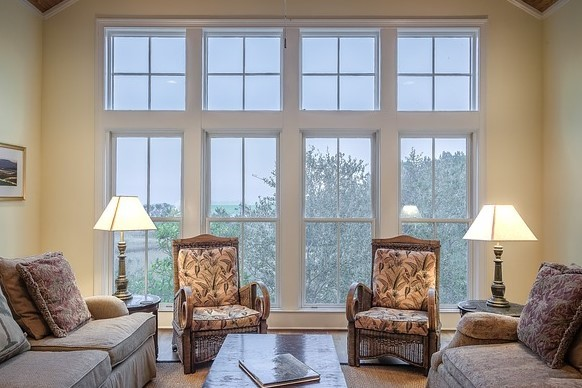 New windows can enhance the value of any room.