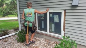 New windows installed in a Twin Cities area home.